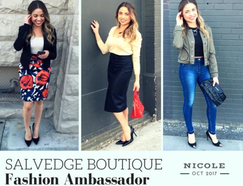 October SalvEdge Fashion Ambassador: Nicole