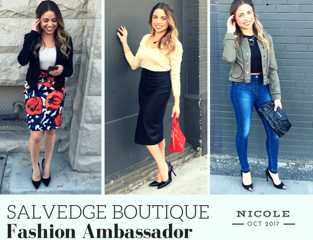 October SalvEdge Fashion Ambassador: Nicole