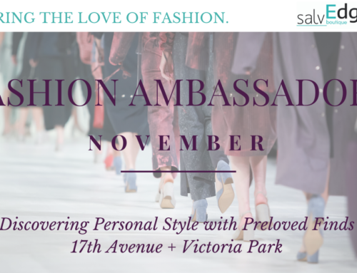 SalvEdge Fashion Ambassadors: November