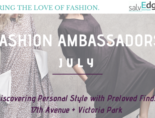 SalvEdge Fashion Ambassadors: July